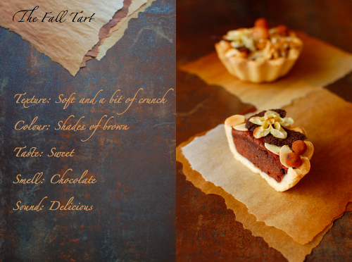 Sinemage Diptych Fall Chocolate Tart