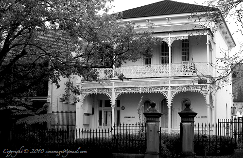 Sinemage Victorian Style House Sydney