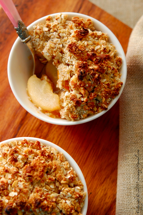 Sinemage Pear & Kumquat Crumble