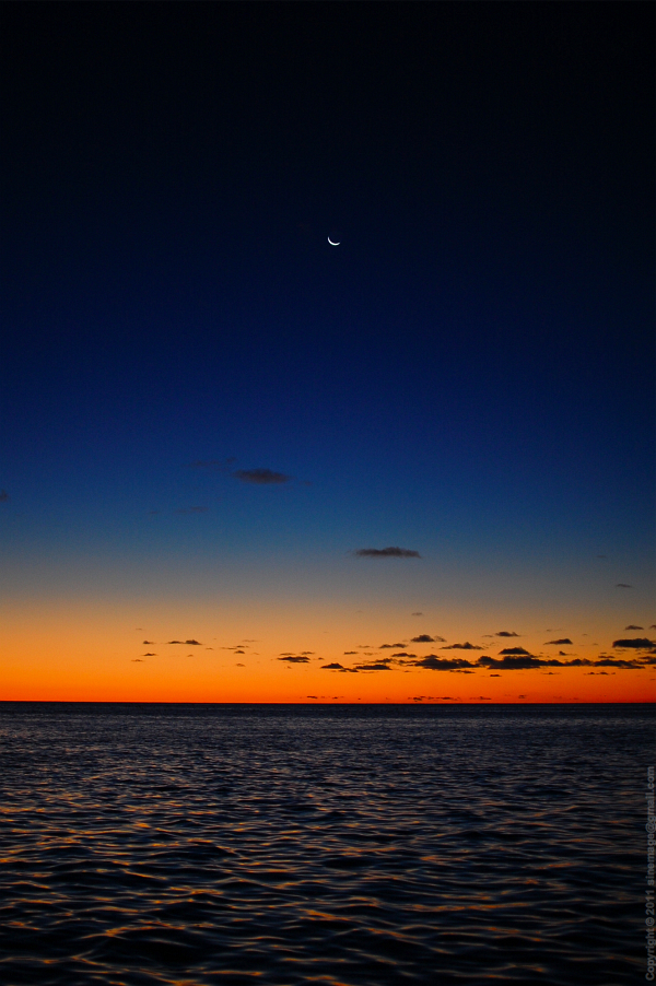 Sinemage Sunset colours and Moon