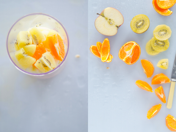© 2011 Viviane Perenyi Fruits for Smoothie Diptych
