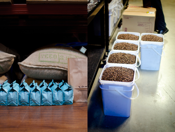 © 2011 Viviane Perenyi Coffee Beans Buckets and Packagings