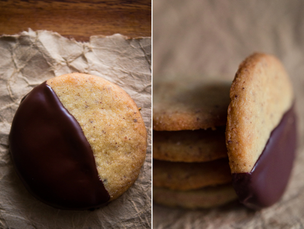 Hazelnut and Chocolate Cookies | At Down Under | Viviane Perenyi