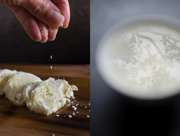 © 2012 Viviane Perenyi - Salt Sprinkle on Fresh Mozzarella