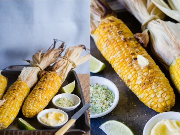 Lime and Chilli Grilled Corn on the Cob | At Down Under | Viviane Perenyi